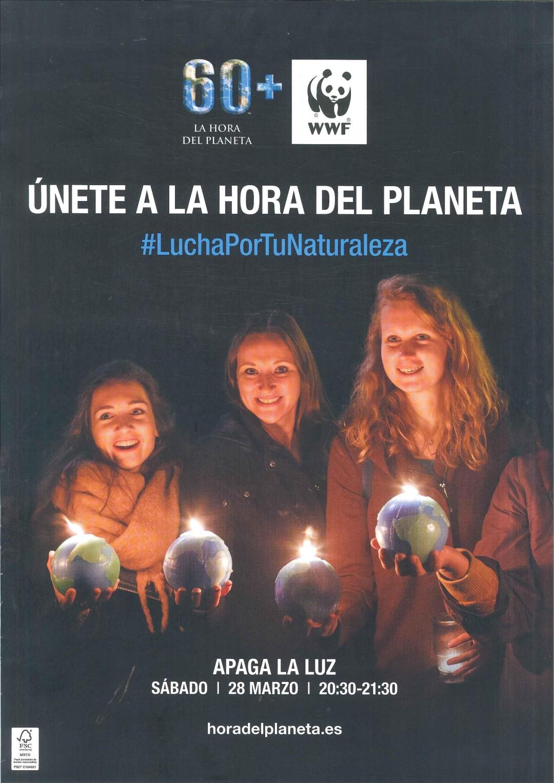 CARTEL HORA DEL PLANETA 2020