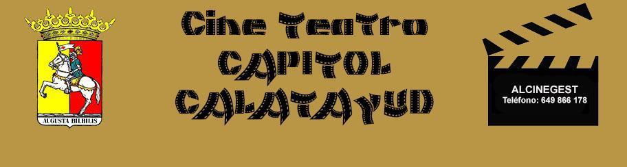CINE TEATRO CAPITOL CALATAYUD
