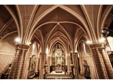 Interior San Pedro de los Francos (Fotografía Juan José Ceamanos)