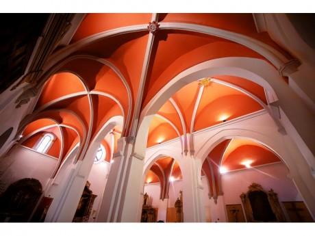 Interior Iglesia de San Andrés (Fotografía Juan José Ceamanos)
