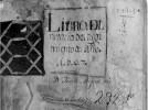 LIBRO DEL NOTARIO REAL JUAN MIGUEL TRIS 1607