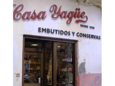 Fachada Casa Yagüe