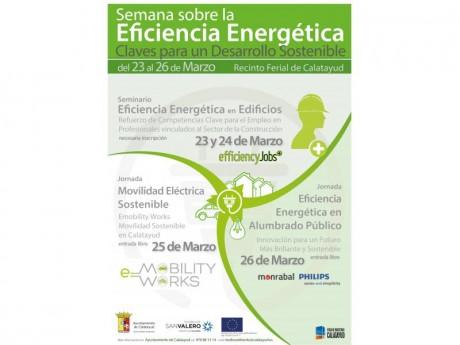 Cartel Semana sobre Eficiencia Energética