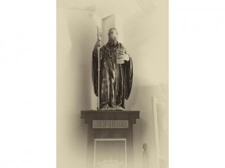 Imágen de San Íñigo Abad