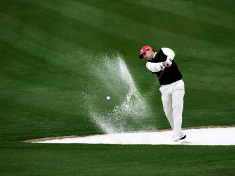 Jugador en Augusta Golf  Calatayud  (Fotografía: Juán José Ceamanos)