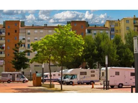 AREA DE SERVICIO PARA AUTOCARAVANAS (Fotografía: José Manuel Gimeno)