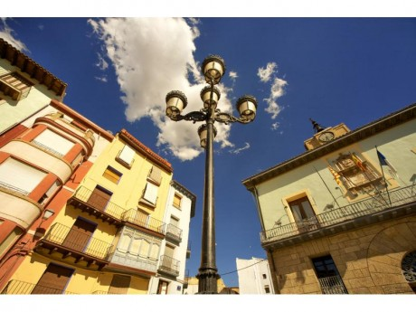 Ayuntamiento - Plaza de España (Fotografía: Juán José Ceamanos)