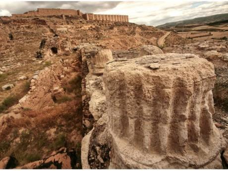Yacimiento Arqueológico Bílbilis (Fotografía: Juán José Ceamanos)
