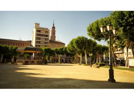 Plaza del Fuerte - Quiosco de la Música (Fotografía: Juan José Ceamanos)