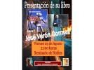 José Verón presenta un libro de cuentos en el Seminario de Nobles