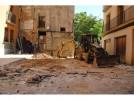 La calle Desamparados se corta al tráfico por obras