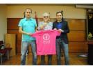 Calatayud se tiñe de rosa para apoyar el cáncer de mama