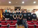 El alcalde recibe a 20 jóvenes ingleses que realizan una estancia en Calatayud