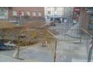Cambios de tráfico por las obras en plaza Correa y calle San Benito