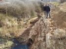 Fin de obras en el aliviadero del río Perejiles