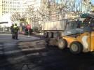 Obras de asfaltado en cuatro calles de la ciudad