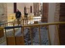 Obras para dotar de suministros al Palacio de Pujadas