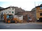 Registrado un desprendimiento en el entorno de Puerta Zaragoza