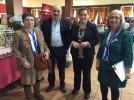 300 personas participan en el V Encuentro de Encajes de Bolillos