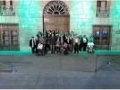 El Ayuntamiento de Calatayud se tiñe de verde por la Plena Inclusión