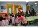 El Rey de Gallos termina sus visitas a los colegios bilbilitanos