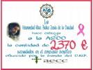 La AECC recibe 2.370 euros de la recaudación del concierto ofrecido por la Policía Nacional