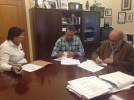 El Ayuntamiento e Interpeñas firman un convenio de por el que la federación recibe 40.000 euros
