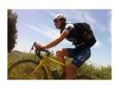 Reto solidario en bicicleta de la bilbilitana Beatriz Bacarizo