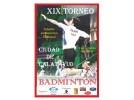 Calatayud acoge este sábado el XIX Torneo Nacional de Bádminton