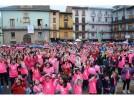 La plaza de España se tiñe de rosa en el IV Encuentro Contra el Cáncer