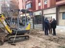 Obras en el entorno de San Benito para poner fin a inundaciones