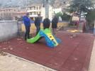 Terminan las obras de ampliación de la zona de ocio infantil en el barrio de Torres