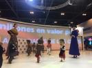 Grupos culturales y folclóricos locales ponen el broche bilbilitano a FITUR 2017