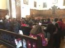 Alumnos del colegio Santa Ana visitan el Ayuntamiento de Calatayud