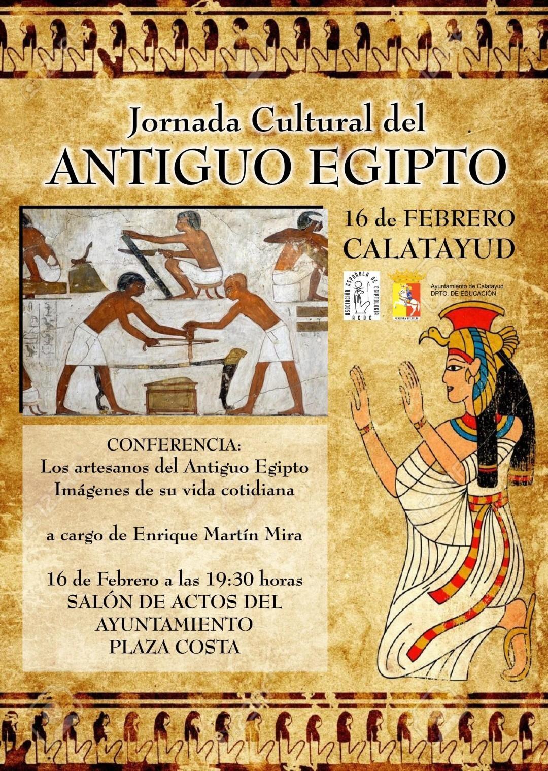 Calatayud Descubre Este Jueves La Artesanía En El Antiguo Egipto