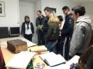 Alumnos de FP del Leonardo de Chabacier conocen el Archivo Municipal