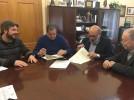 El Ayuntamiento entrega una subvención a la Hermandad del Santísimo Cristo de la Paz