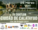 Calatayud proclamará a los campeones de Aragón de duatlón