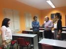 El director del Instituto Aragonés de la Juventud se reúne con el alcalde y la concejal de Juventud