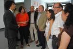 El secretario de Estado de Servicios Sociales visita el proyecto social 'Amibil' en Calatayud