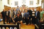 Descendientes del apellido judío 'Castiel' son recibidos por el alcalde y el concejal de Turismo