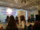 La concejal de Participación Ciudadana asiste a un encuentro de entidades locales aragonesas