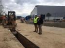Ayuntamiento invierte 300.000€ en ampliar la red eléctrica de la zona industrial Cuadras de Esteras