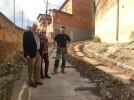 Empiezan las obras en la Subida de la Peña, donde se invierten 146.900 euros