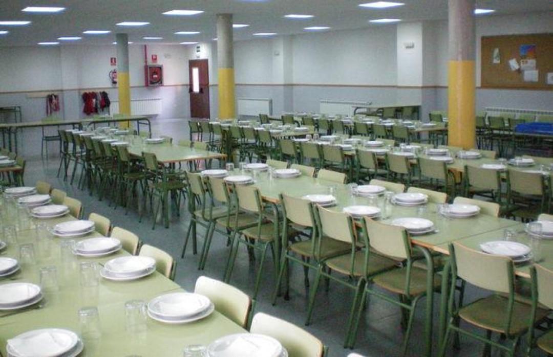 58 alumnos se benefician de las becas de comedor escolar del ...