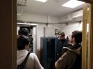 Alumnos de FP del Leonardo de Chabacier visitan los sistemas informáticos del Ayuntamiento