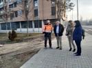 El parque de la Serna completa su zona deportiva con dos nuevas pistas