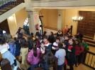 El alumnado de 6º de Primaria del colegio Francisco de Goya visita el Ayuntamiento