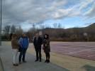Concluyen las obras en la nueva zona deportiva para jóvenes en el parque de la Serna