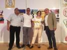 Multitudinaria presentación de las fiestas de San Roque y de Jorge Miret como Peñista del Año